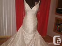 PRONOVIAS BRIDAL GOWN STILL NEW NEVER WORN, STYLE