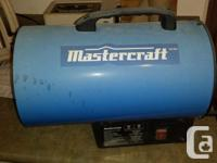 Propane heater like new (little paint over spray on for sale  British Columbia