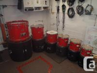 Foam Lined Protechtor XL Drum Cases $1000 for all or
