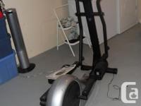 FOR SALE - Proteus Triad X5 Elliptical machine workout
