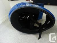 Pryme AL full face helmet. 54-47cm S/M. 1020g. The