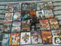 Offering a PS2 slim with controller, memory card,