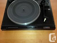 SONY PS-LX230 Automatic Turntable Record Gamer + 2 new