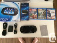 Selling my PS Vita with some extras and a few games. I