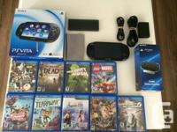 Selling my PS Vita with all the accessories. I don't
