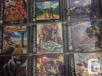 Bunch of PS1 games have just traded in, some rare ones.