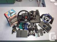 PlayStation 2 Console, Logitech GT Motive power Tire,