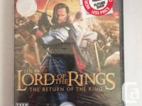 LORD OF THE RINGS: RETURN OF THE KING - PlayStation 2.