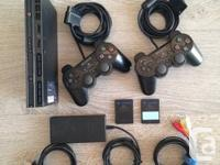 This bundle includes:  PS2 slim console  AC adapter