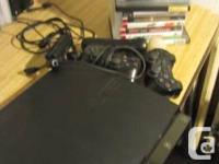 Playstation 3 in good condition with 2 controllers, eye