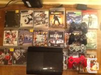 I'm selling a ps3 500 gb super slim bought in June with