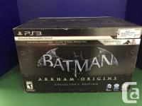 This is a brand new never opened copy of Batman Arkham