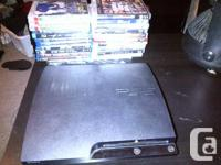PS3 console - 150 gb with 1 controller  HDMI cable