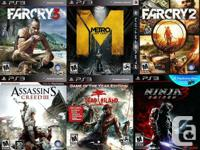 PS3 PLAYSTATION 3 Games For Sale or Trade  $25 FarCry
