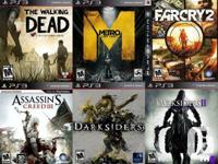 PS3 PLAYSTATION 3 Games For Sale or Trade  $25 The