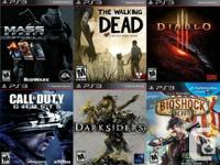 PS3 PLAYSTATION 3 Games For Sale or Trade  $45 Mass