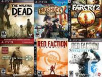PS3 PLAYSTATION 3 Games For Sale or Trade  $30 Bioshock