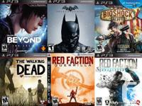 PS3 PLAYSTATION 3 Games For Sale or Trade  $40 Beyond