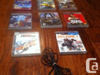 Selling my ps3 move camera and 11 games ! My ps3 died