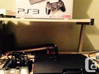 250 GB PS3 comes with 2 controllers, wireless mic,
