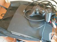 Hey im selling my PS3, I have a ps4 and dont need it