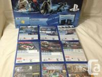 You will be receiving the following  Playstation 4
