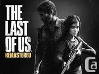 For sale are the following PS4 items: 1) The last of us