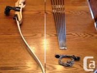 This is a PSE Razorback Take-Down Recurve Bow with a 30