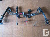 I am selling a barely used bow with accessories;  PSE