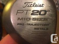 CLASSIC TITLEIST PT MID-SIZE 20 LEVEL 5-WOOD--.  TIGER