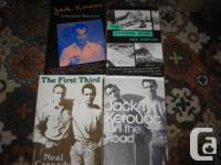 Neal Cassaday-- The First Third $6.  Jack Kerouac--
