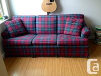 Hey there,.  I'm selling my pull-out sofa. It is in