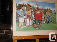 Hirlarious gift for the passionate golf player print in