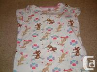 Very cute summer PJ in like new condition, short sleeve
