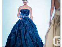 Stunning one off a kind Ball Gown wedding dress  This