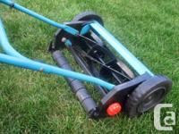 Gardena 370SM Reel Lawnmower for Sale. Used, but in