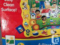 Used Giant floor puzzle and Game in ONE!. Super size 3