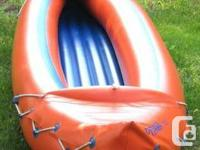 Pyrawa 320 ~ 10 ft, 2 Person, Inflatable PVC Canoe
