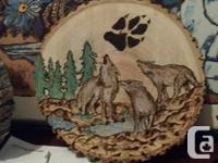 A wide variety of pyrography (Wood burning)! Countless