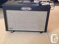 I have for sale a lightly made use of Kustom Quad 100