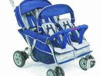 Angeles quad stroller, commercial grade. Excellent