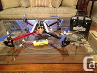 For sale: ArduPilot Drone Quadcopter.   Specifications