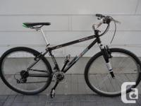 Selling an adult size commuter mountain bike in almost
