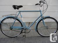 Selling a quality vintage 3 speed RALEIGH cruiser road