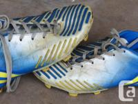 All high-end ultra light boots. Decent condition, no