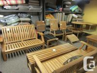 Searching for Teak furniture? We have a large choice