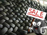 -Quality USED TIRES        - summer all season and
