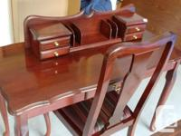 Beutifully Queen Anne style writing desk , solid cherry for sale  British Columbia