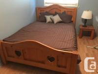 Hello! Queen size bed w/mattress, 7 drawer dresser,