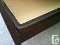 Bedroom set including bed (headboard, foot-board, rails
